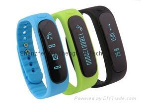 Smartband E02 Health fitness tracker Sport Bracelet Waterproof Wristband for IOS 1