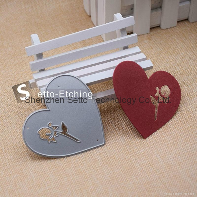 OEM factory custom metal cutting dies for paper crafting 3