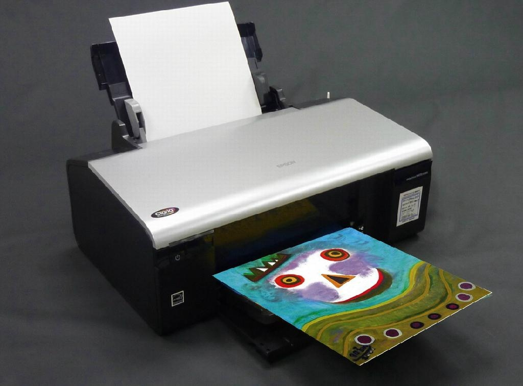 AP-603 A4 Inkjet Artist Canvas for Printer (Fabric Sheet) 1