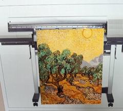AT-103-C  Matt Water-resistance Artist Cotton Canvas ( Water Dye & Pigment )