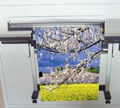 AN-6408-N  油性雾面耐水免车边旗布 (Solvent & Eco Solvent & Latex & UV)