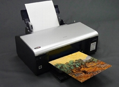 AT-103-C  A4 Artist Cotton Fabric for Desktop Printer