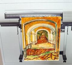 AP-153 (背纸) 水性雾面耐水单透绢布 ( Water Dye ink & Water Pigment ink )