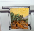AT-103-C  Small Wide Artist Cotton Canvas Inkjet Roll 4