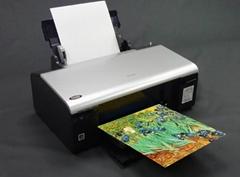 AT-103-CS  A4 高彩度棉質油畫布(噴墨印表機專用)(裁片)(平張)