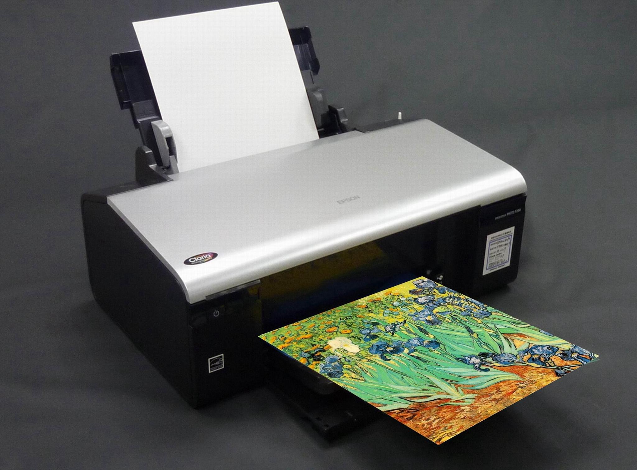 AT-103-CS (小寬度捲支)水性棉質油畫布(噴墨印表機使用) 3
