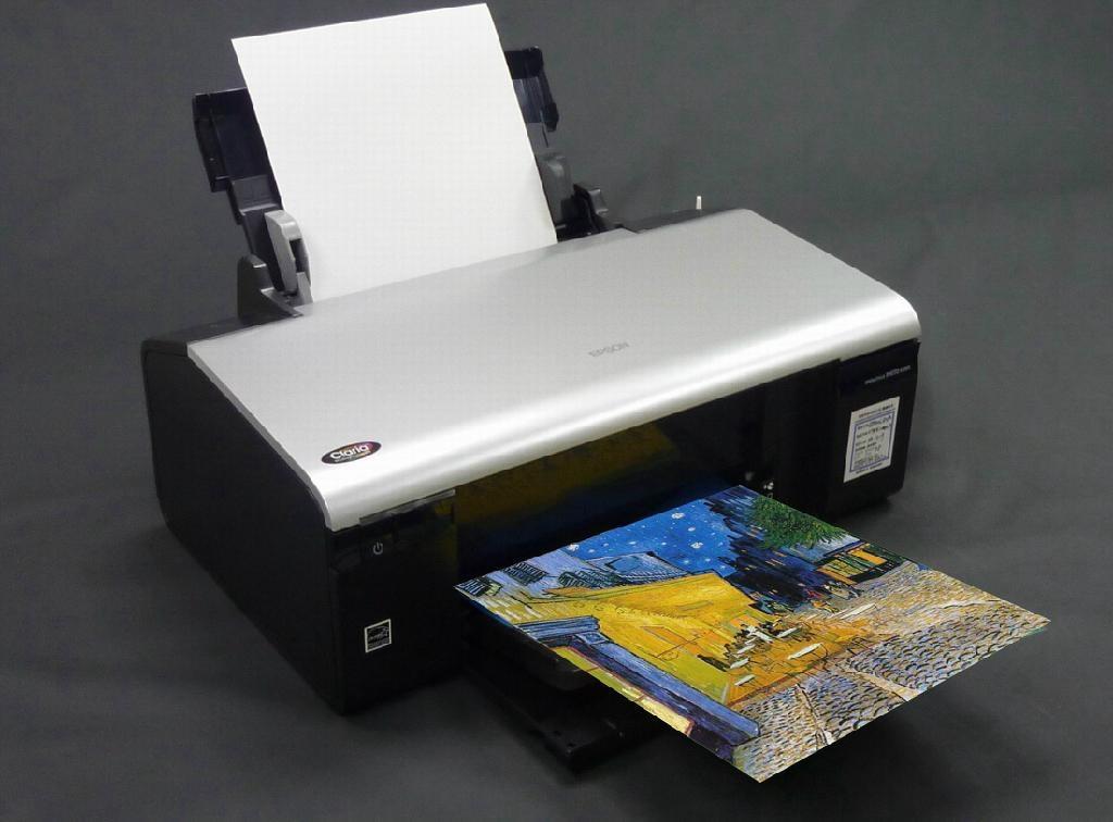 AP-601 A4 水性亮面油画布(不耐水)(喷墨印表机使用) 1