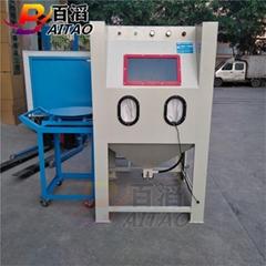 百涛1010型喷砂机 推车式1010喷砂机
