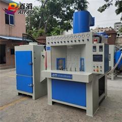 瓶體壓鑄件轉盤式自動噴砂機