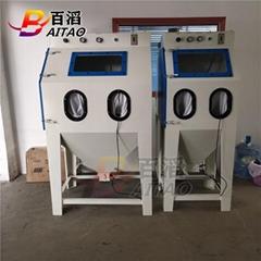 百涛厂家批发9060小型手动喷砂机