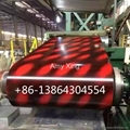 flower design ppgi color coated steel coil indian pakastian market  3