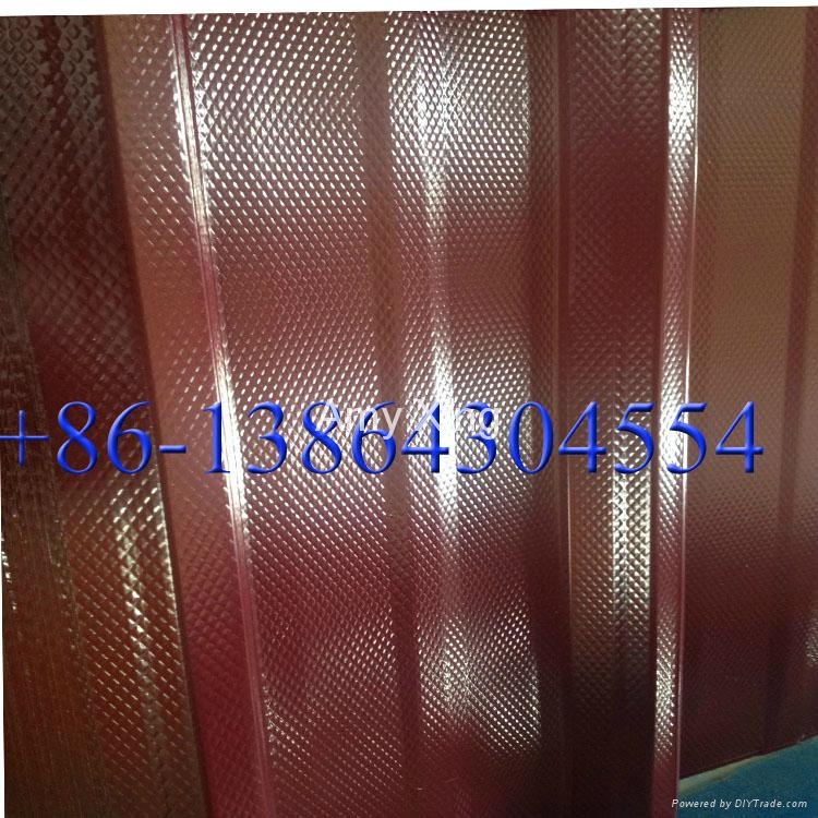 embossed diamond ga  anized steel sheet roof sheet 1