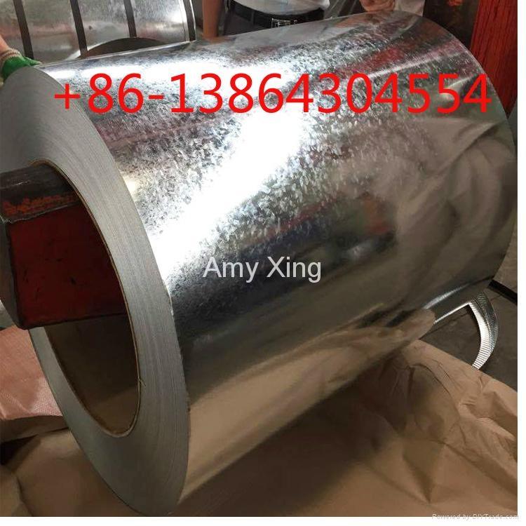 SGCC G550 full hard GI GL galvalume steel coil 1