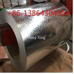 SGCC G550 full hard GI GL galvalume steel coil