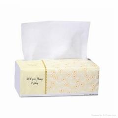 HOT SALE Soft Pack Tissue 100% Virgin Wood Pulp facial tissue