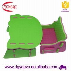 Factory Outlets Eva Cheap Children Furniture Table in Various of Design