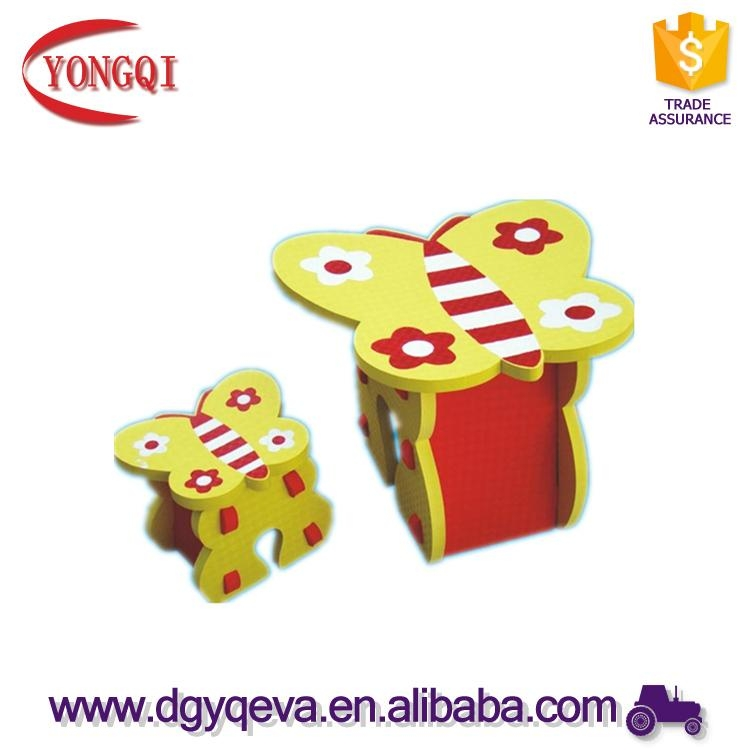 Factory Outlets Eva Cheap Children Furniture Table in Various of Design 5