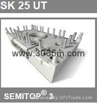 西门康晶闸管 SKUT115T 3