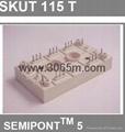西门康晶闸管 SKUT115T 4