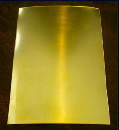 超厚耐磨工業H65黃銅雕刻板 1