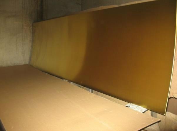 超厚耐磨工業H65黃銅雕刻板 3