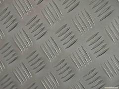 3003電梯防鏽五條觔花紋鋁板