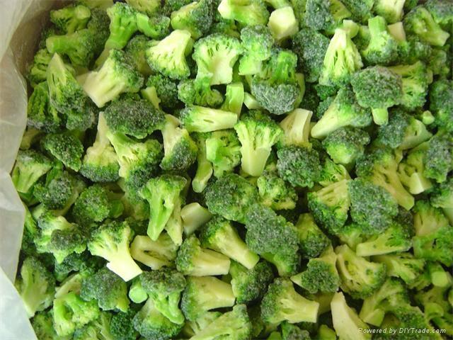 Frozen broccoli 2