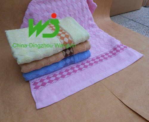Bath towel tissue 70*140cm staining 100% cotton 1