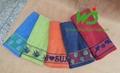 Bath towel tissue 70*140cm staining 100% cotton 3