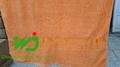 Bath towel tissue 70*140cm staining 100% cotton 4