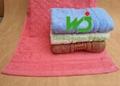 hotel towel set cotton face towel bath towel 2