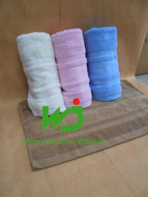 hotel towel set cotton face towel bath towel 5