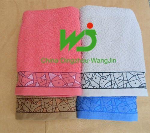 fully cotton printed bath towel 2