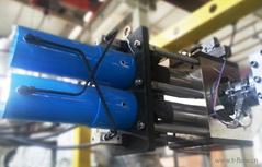 雙柱液壓換網器