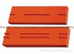 High Manganese blow bar for impact crusher