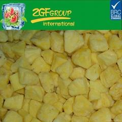 frozen iqf pineapple