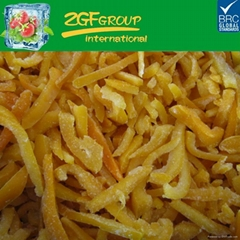 frozen iqf yellow pepper