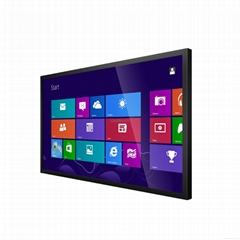 49-55inch Wall Mounting PC AIO IR Touch Display
