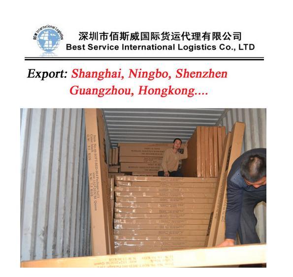 供應國際海運整櫃到沙迦  2