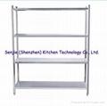Stainless steel shelf stainless steel