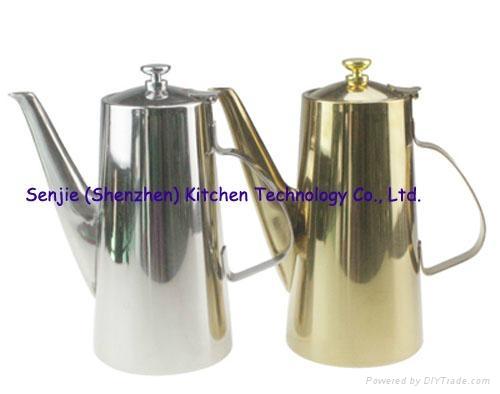 Stainless steel water jug coffee pot SS teapot 2