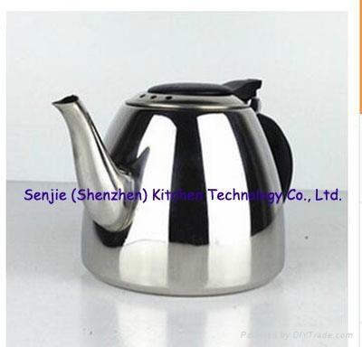 Stainless steel water jug coffee pot SS teapot 5