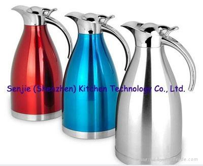 Stainless steel water jug coffee pot SS teapot 3