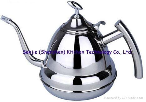 Stainless steel water jug coffee pot SS teapot 4