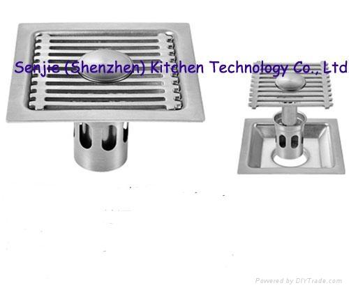 Stainless steel floor drain 5