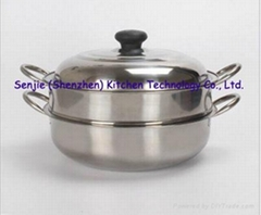High quality stainless steel cookware holloware pot