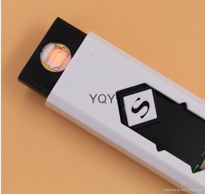 USB充电创意防风电子点烟器 4