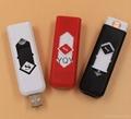 USB充电创意防风电子点烟器 5