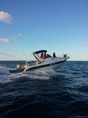 QD 20.5 CABIN Fiberglass motor boat