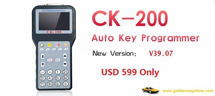 V39.7 CK-200 CK200 Auto Key Programmer Updated Version of CK-100 1